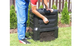 Výroba kompostéry, kompostovací sila z recyklovaného plastu  - pomoc při kompostování