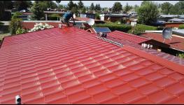 Opravy, rekonstrukce plochých, šikmých střech, krovů