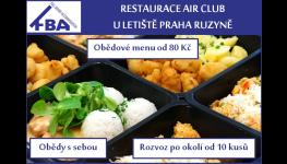 Rozvoz obědů až do vaší firmy, obědy s sebou přes terasu - Praha 6 Ruzyně