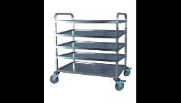 Servírovací a manipulační vozíky vhodné pro stravovací zařízení