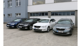 Autopůjčovna, náhradní vozidla Škoda a Volkswagen
