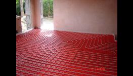 Instalace, montáž podlahového topení, vytápění