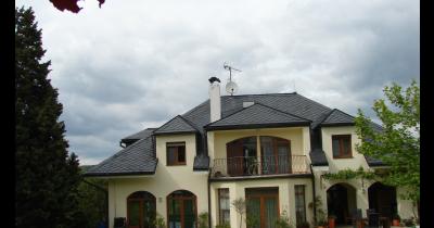 Realizace břidlicových střech, střešní krytiny z břidlice