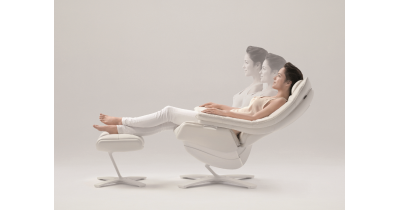 Světová novinka mezi relaxačními křesly - reaktivní křeslo Re-vive