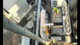 Výroba horkých obalovaných asfaltových směsí Obalovna Ostrava