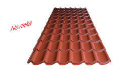 Prodej trapézové plechy střešní, stěnové v různém barevném provedení