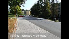 Výstavba, rekonstrukce, opravy komunikací, silnic a chodníků