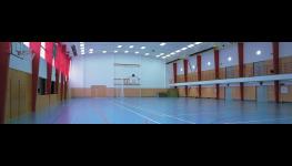 Sportovní hala, levné ubytování, squash a masáže, Semily