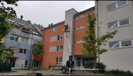 Odstranění plísně a řas ze zateplené fasády - šetrné, ale dlouhodobé