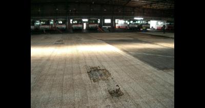 Renovace a opravy průmyslových podlah, sanace mastných povrchů