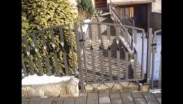Výroba ocelových plotů, oplocení, sloupky, zábradlí, schody