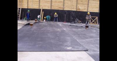 Dvojité bentonitové rohože (DBR), výroba a prodej Most – ochrana proti radonu a prosakující vodě