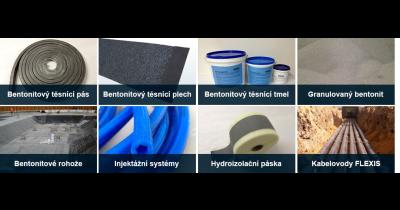 Odborné poradenství v oblasti izolačních a těsnících materiálů a systémů Most