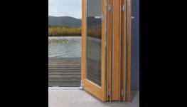 Dřevěné posuvné dveře, HS portály - elegantní a bezpečný vstup na balkon či terasu, kvalitní výroba