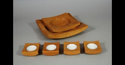 Dřevěné výrobky užitkové i dekorativní, designové bytové doplňky