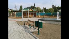 Jednotný městský mobiliář, lavičky, informační plochy a vitríny