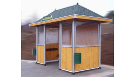 Moderní autobusové čekárny budou ozdobou vaší obce i města - výroba