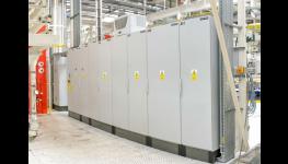 Instalace osvětlení v průmyslových provozech, areálech-vlastní divize elektro