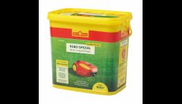 Speciální trávníkové hnojivo určené pro trávníky, které jsou sekány robotickými sekačkami
