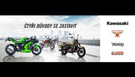 Motocykly, čtyřkolky, skútry prodej v Třebíči na Vysočině
