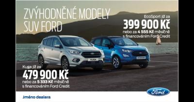 Nový Ford Kuga Top Edition od 469.900,-  kompaktní SUV s prvotřídní výbavou za bezkonkurenční ceny