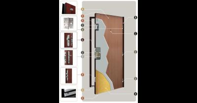Bezpečnostní dveře Securidoors jsou nejen spolehlivé a odolné, ale i moderní