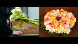 Obaly na urny, dovoz věnců, květin na místo pohřbu, tisk smutečních oznámení