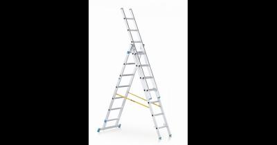 Profesionální žebříky - víceúčelové, opěrné, výsuvné, stojací nebo střešní