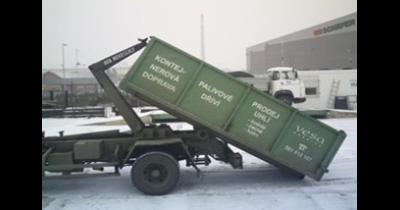 Kontejnerová doprava - prodej kameniva, převoz sypkých materiálů