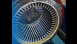 Výroba, izolace a zakládání cívek z profilového vodiče a navíjení statorů trojfázových trakčních elektromotorů