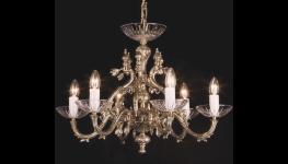 Restaurování historických a starožitných lustrů -  kovové i křišťálové lustry uvedeme do původního stavu