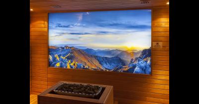Skleněné obklady, zástěny, dělící stěny s různým potiskem na sklo
