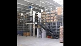 Průmyslové regály, automatizované skladové systémy, kancelářské vestavby