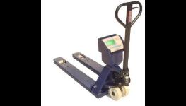 Paletové váhy, elektrický paletový vozík s váhou pro vážení rozměrného zboží