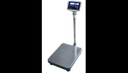 Průmyslová váha - vyhodnocovací indikátor na sloupku, nerezový vážicí můstek