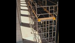 Fasádní ocelové rámové lešení SPRINT - prodej, pronájem včetně montáže