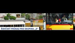"""Řidičský průkaz skupiny """"D"""" – řidičák na autobus získáte u profesionální autoškoly"""