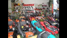 Prodej zahradních strojů, komunální, lesní techniky a záruční, pozáruční servis