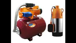 Čerpací technika-domácí vodárny, čerpadla ponorná, kalová, jezírková, akvarijní