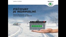 Zimní servis, kontrola a prohlídka aut Škoda - dokonalá péče o váš automobil