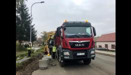 Nákladní autodoprava – přeprava strojů, stavebního materiálu, odvoz suti