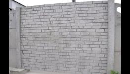 Betonové oboustranné ploty, betonové oplocení, betonové výrobky