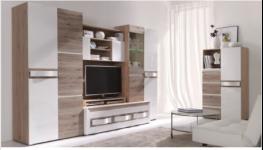 Sektorový nábytek – skříně, komody, TV a konferenční stolky, obývací stěny