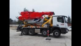 Autodomíchávač, čerpadlo betonu Pumpomix PUMI 25-4