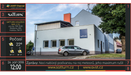 Digitální úřední deska pro rychlé informování občanů obcí a měst v České republice