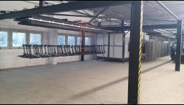 Navýšení skladovacích prostor a možnost tryskání větší výrobky díky nové velké výrobní hale
