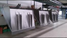 Práškové lakování velkých kovových dílů a komaxitování