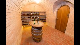 Klenuté archivní vinné sklípky k degustaci nejlepších moravských vín