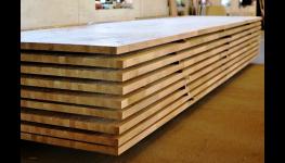 Výroba nábytku ze spárovky, výroba lepených desek - dveře, skříně, kuchyňské desky
