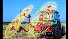 Paprskové obraceče a shrnovače - profesionální zemědělské technika